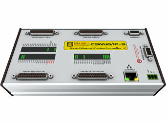 6-Achsen CNC Steuerung CSMIO/IP-S Ethernet (STEP/DIR)
