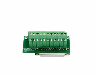Adapter für Steuerungssignale simDrive V2 400/750W für einfache Verbindung (Option)