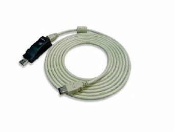 Programmiergerät für Servoantriebe simDrive USB-Kabel zur Verbindung mit PC
