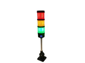 Signalturm LED 24V. Klappständer mit Ton