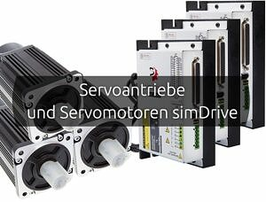 Servoantriebe und Servomotoren SimDrive